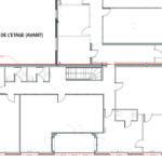 5_Plan_de l'étage_avant